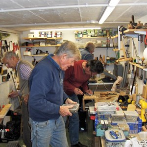 Christchurch Men's Shed Workshop