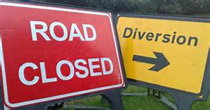 Ellesmere Rural Parish  Council Road Closure:  St Martins 11/11/18