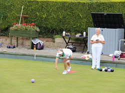 Bovey Tracey Bowling Club Ladies Unbadged Pairs Final