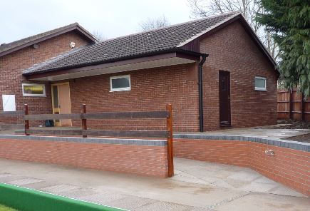 The new changing rooms - 2010 extension