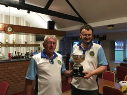 Alan Guest  & Stuart Bond finalists in the Presidents Cup 2017