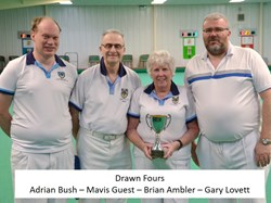 Loddon Vale Indoor Bowls Club Club Finals 2019