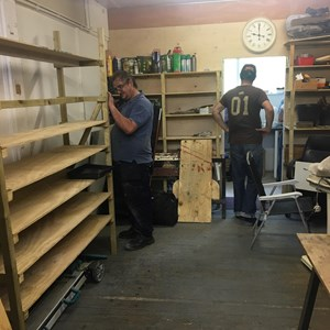 New Westbury Community Shed Workshop