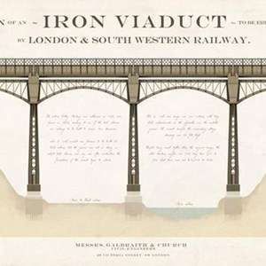 MThe plan for the steel Meon viaduct