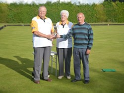 Men's Pairs Champions Ted Deal and Peter Clements