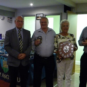 Drawn Triples Winners - Janet Cousner, Peter Collins, Frank Craven