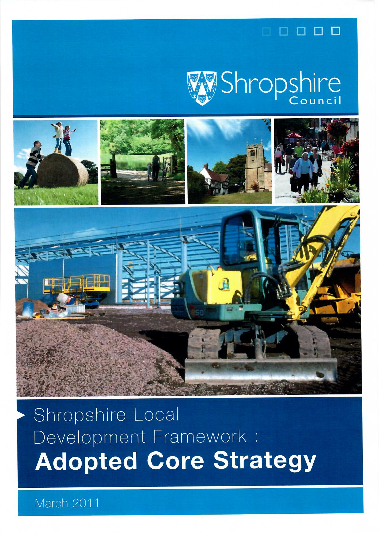Shropshire Council's Adopted Core Strategy