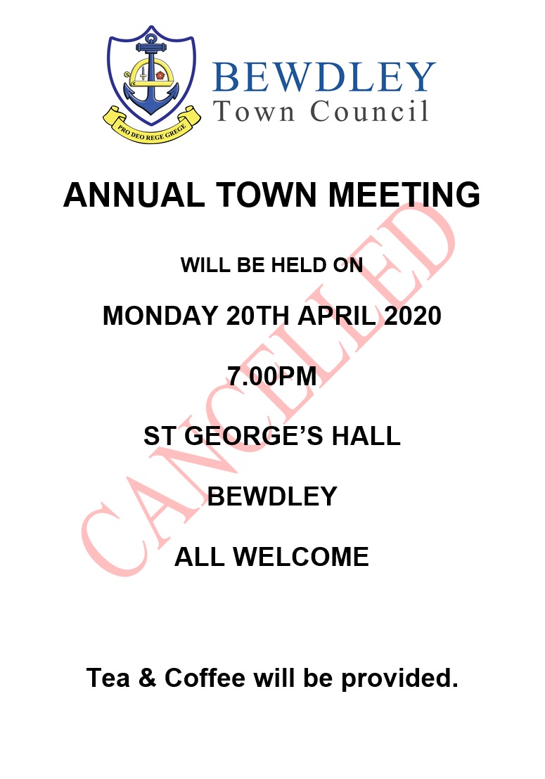 Bewdley Town Council Annual Town Meeting