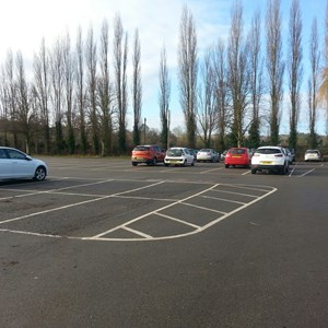 Our large free carpark