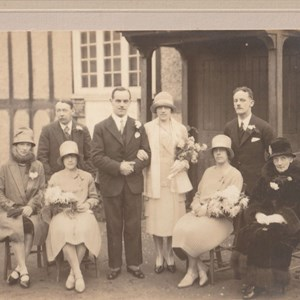 Wedding – Bob (Horace) Batchelor and Marjorie