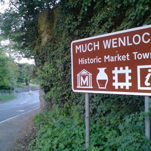 Much Wenlock Walkers are Welcome Photo gallery of the Blakeway Walk