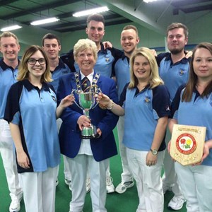 EIBA National Under 25 Double Rink Champions 2016