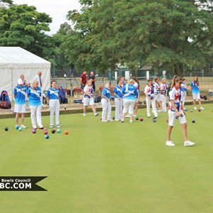 British Isles Women's Bowls Council 2018 Junior Championship and Series