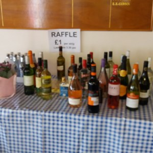 Raffle table July 2017