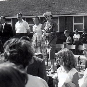 1959- Pool Official Opening Ceremony