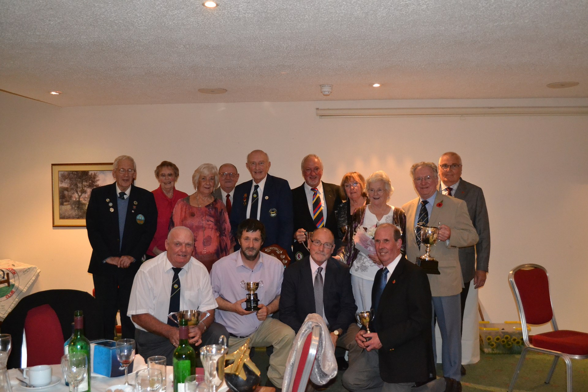 Presentation Dinner 2015 Winners and Runners up