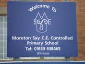 Moreton Say Parish Council Moreton Say School