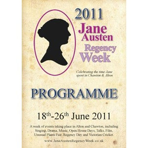 2011 Jane Austen Regency Week Programme
