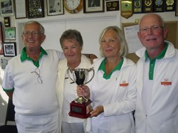 Bovey Tracey Bowling Club Phear Park Centenary Cup Winners 2017