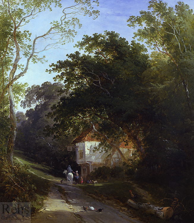 A Lane at Knockholt, Kent Henry John Boddington