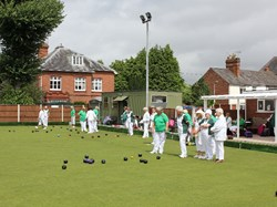 Stourport Bowling Green Club Worcestershire Bowling Assoc.  Ladies