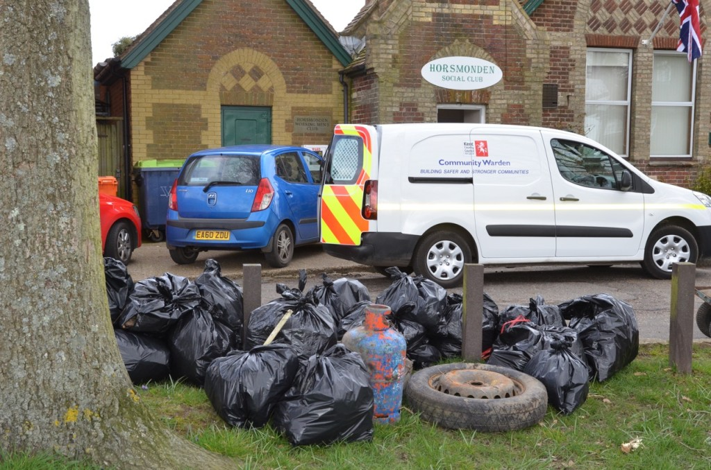 Horsmonden Parish Council Community Litter Pick
