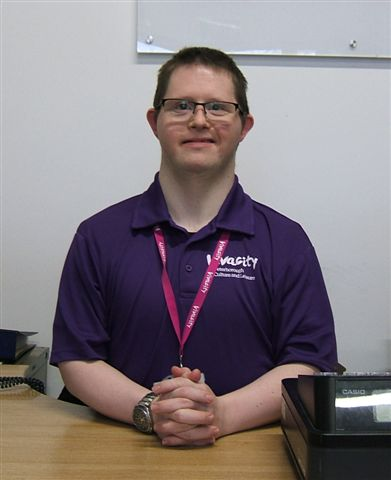 Volunteer Receptionist: Andrew King