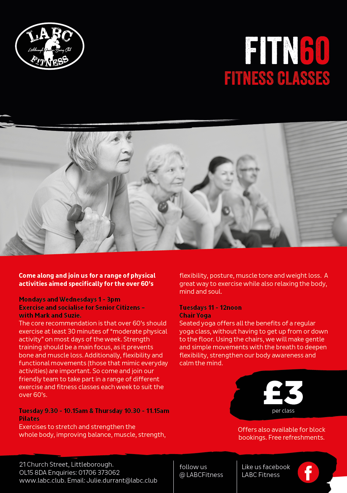 Littleborough Boxing & Fitness Club Fitn60