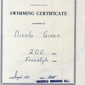 Lordsfield Swimming Club Historical Records