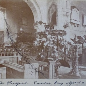 The Pulpit. Easter Day April 2nd 1893.