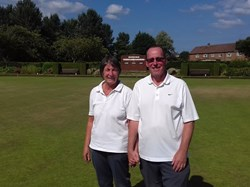 Cleveland Pairs Competition Winners - Sue and Tom Entwistle
