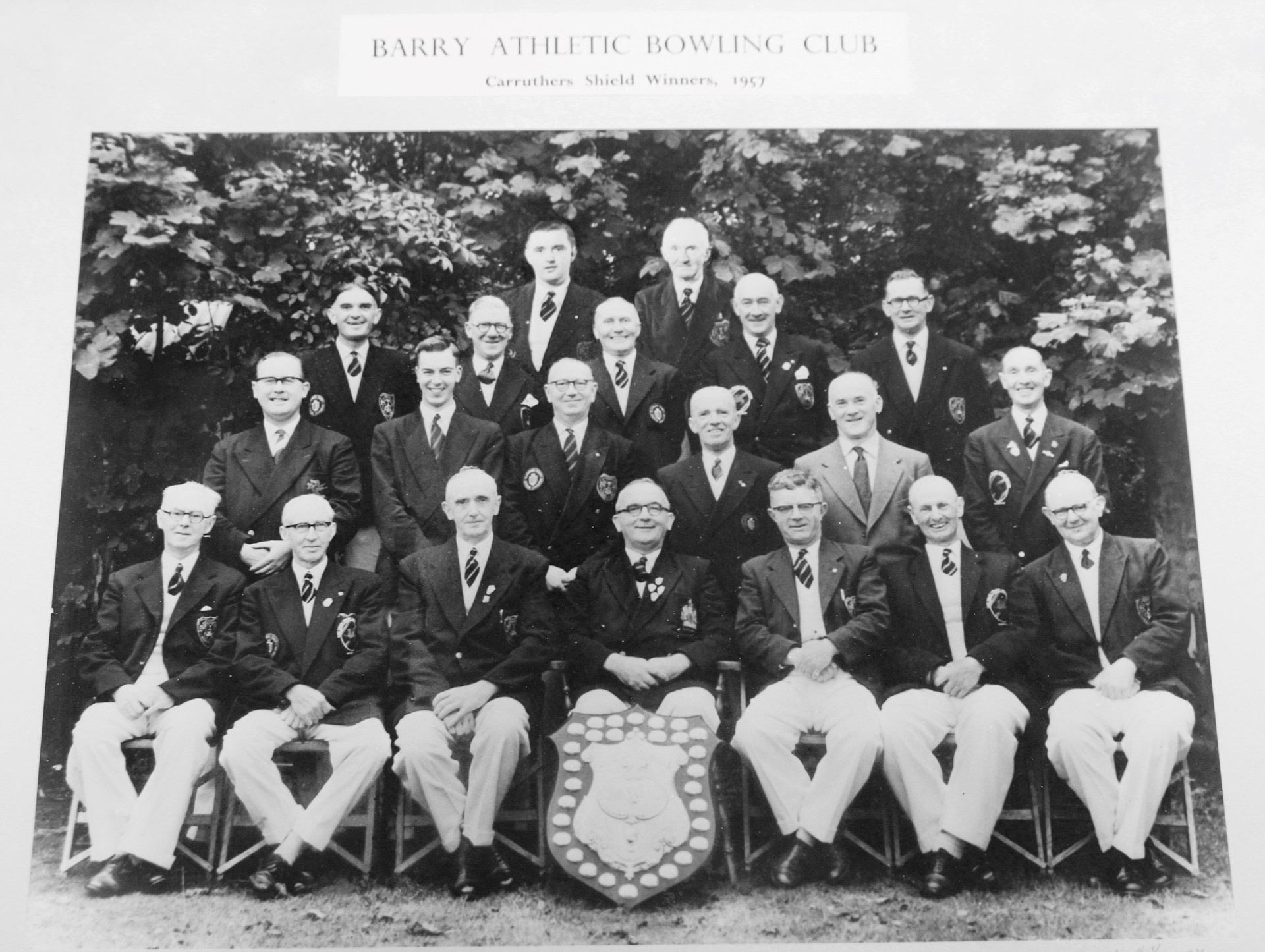 Caruthers Shield Winners 1957