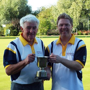 Pairs. Dave Boulton & Darly Pashley.