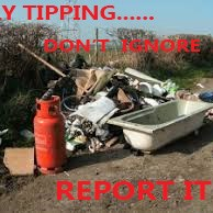 Don't IGNORE Fly Tipping Poster