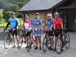 A 'Pit Stop' for Cycling Events