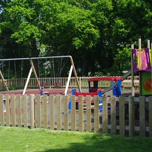 Young children's play area, Medstead Village Green