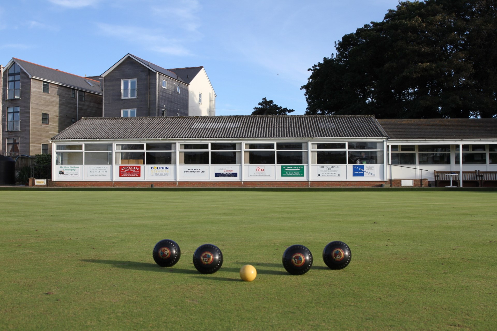 Barry Athletic Bowls Club Our Clubhouse & Green