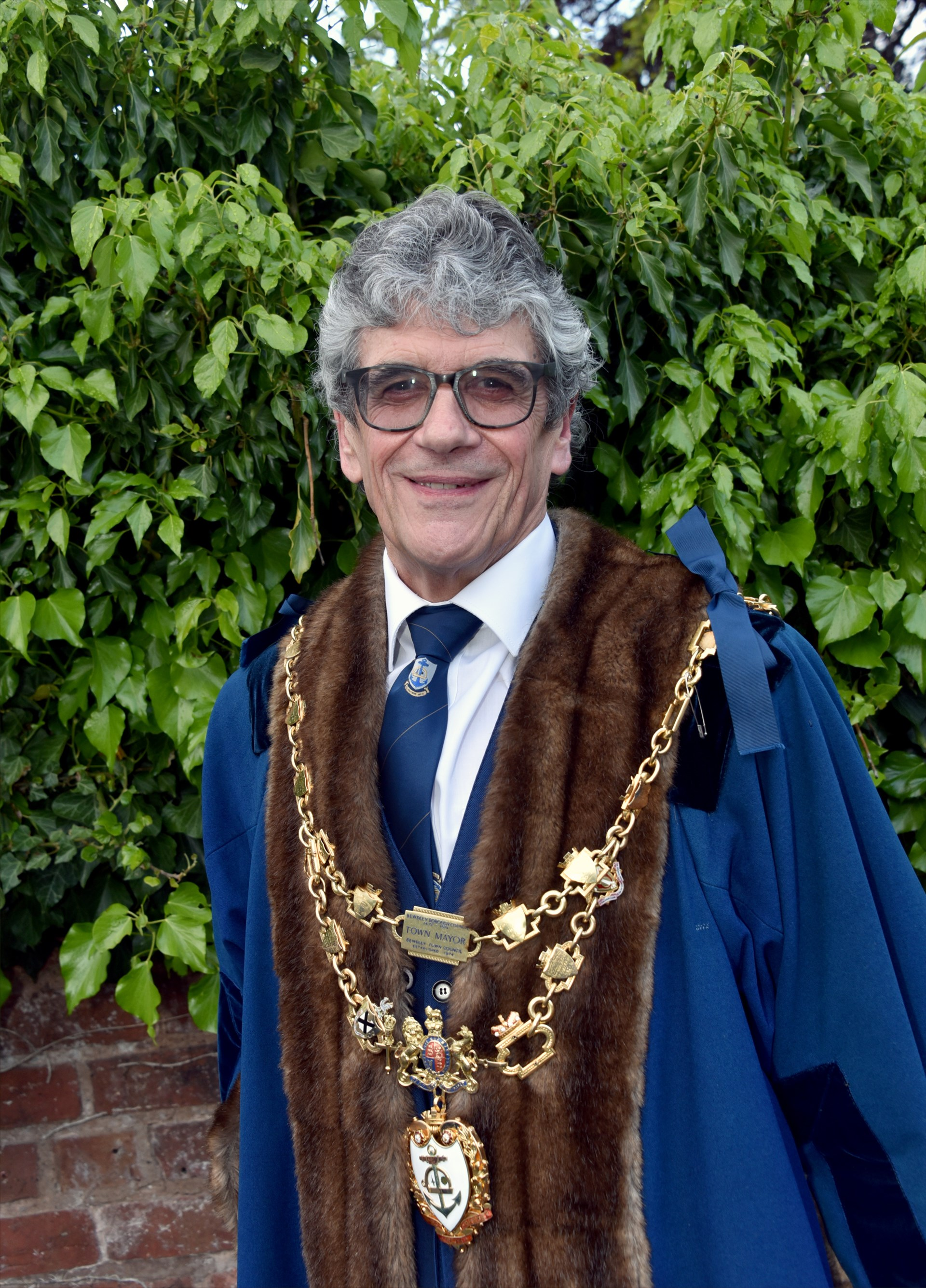 Councillor John Byng, Mayor of Bewdley