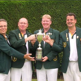 COUNTY FOURS CHAMPIONS 2010  Clive Graves, John McAndrew, Paul Seymour, Don Savage