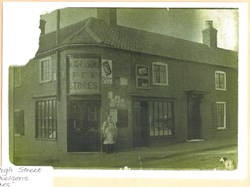 Wm Mitchelson grocer during WW1 41 High St
