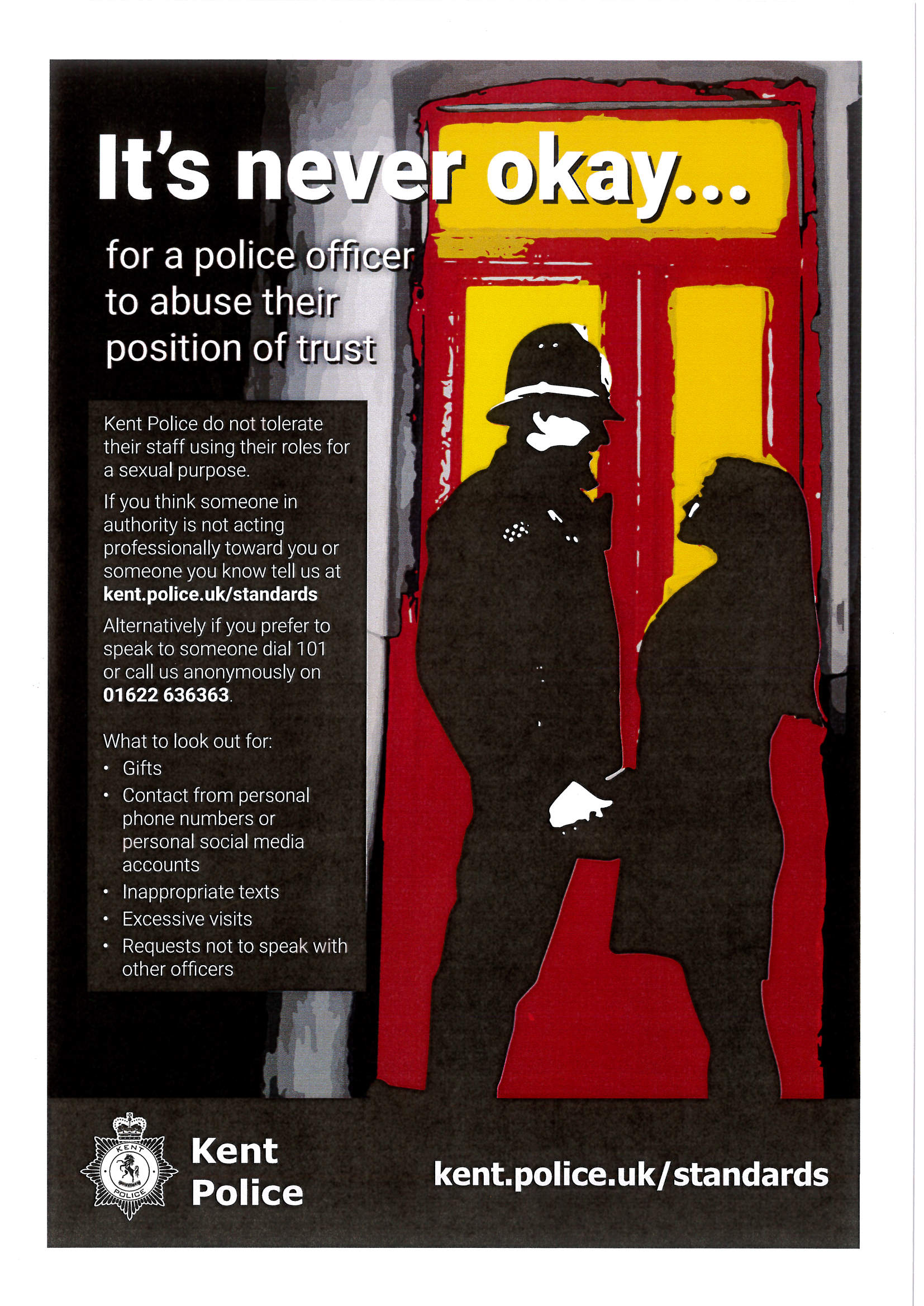 Abuse of Position Poster