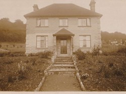 Mon Repos. The house built by George Sylvester Batchelor