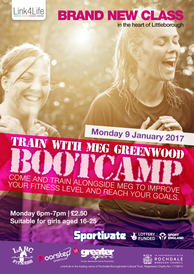 Littleborough Boxing & Fitness Club Train with Megan