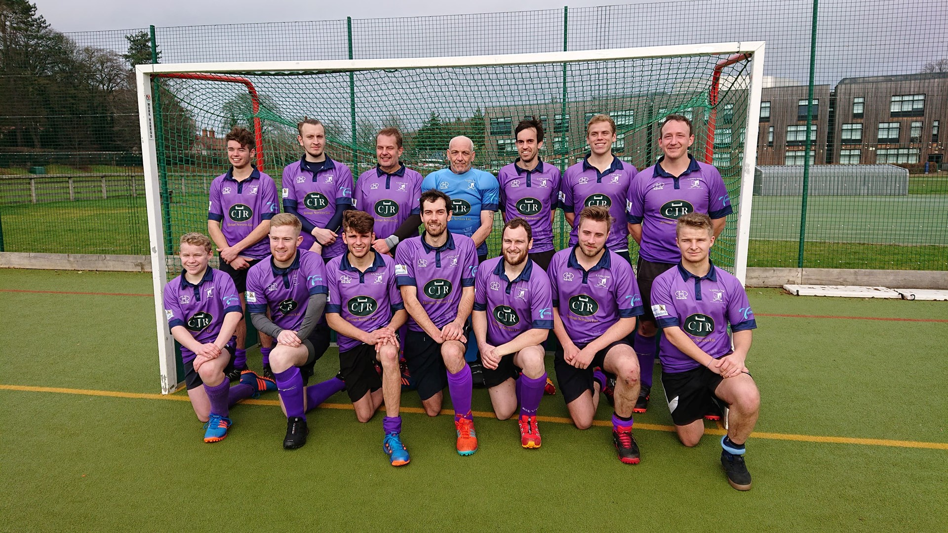Men's 1st Team 2018/19 Back row left to right Sam Pratt, Matt Blount, Graham Hutchinson, Dave Hughes, Andrew Richards, Lawrence Richards, Craig Heath. Front row Luke Mathews, Jack Phasey, Brenden Pratt, Stuart Richards, Joe Richards, Jake Watts and Jack Pritchard. Missing Gavin Hughes (captain), Ieuan Hutchinson and Mathew Jones