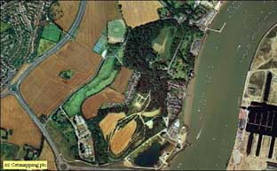 Aerial Image of Upnor