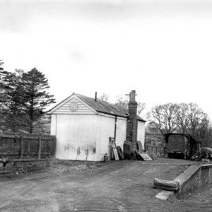 Bentworth & Lasham station in the 1950s