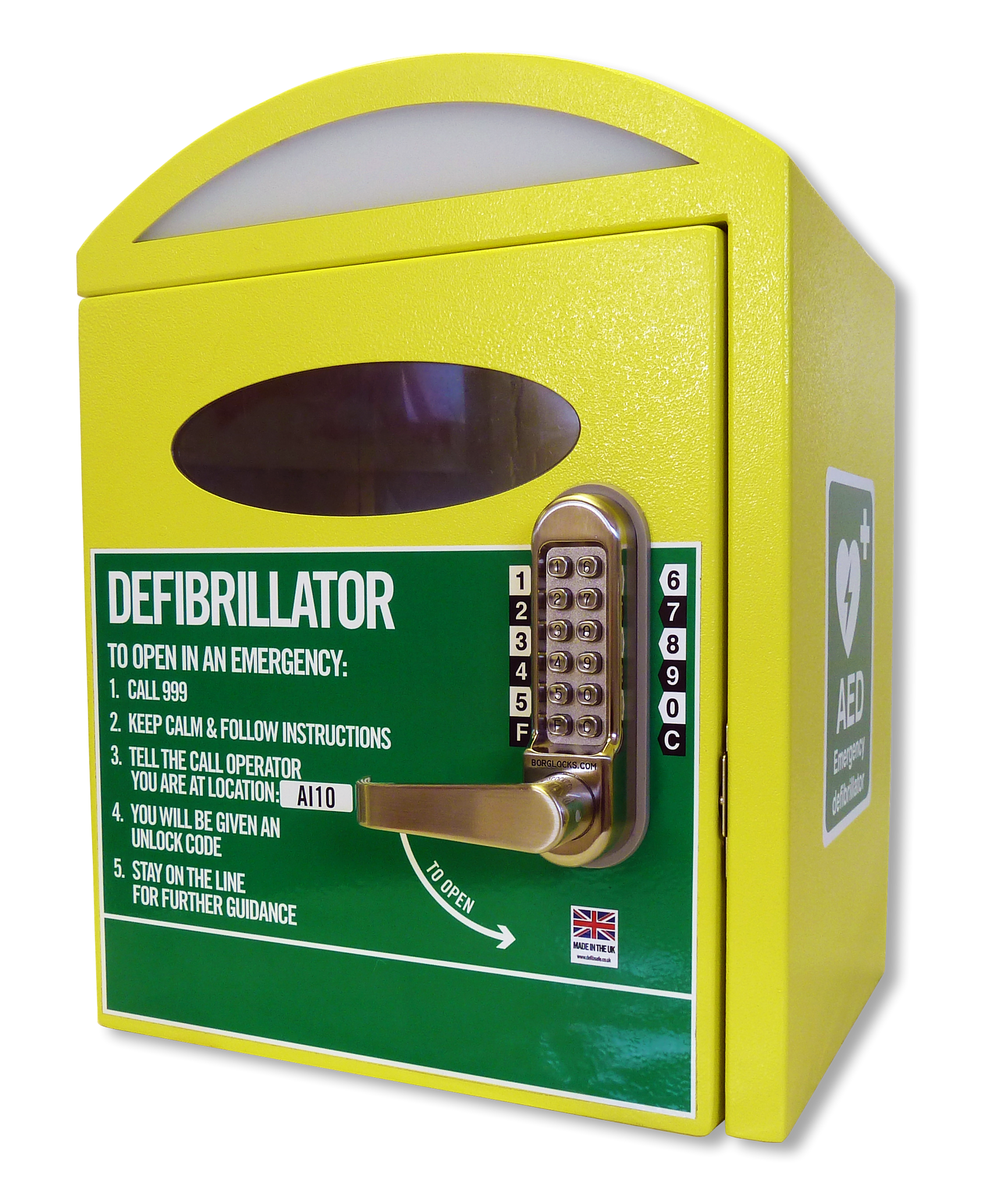 Automotive External Defibrillator (AED); Cabinet For AED ...