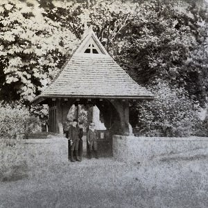 Lych Gate - Mickleham Church 1885