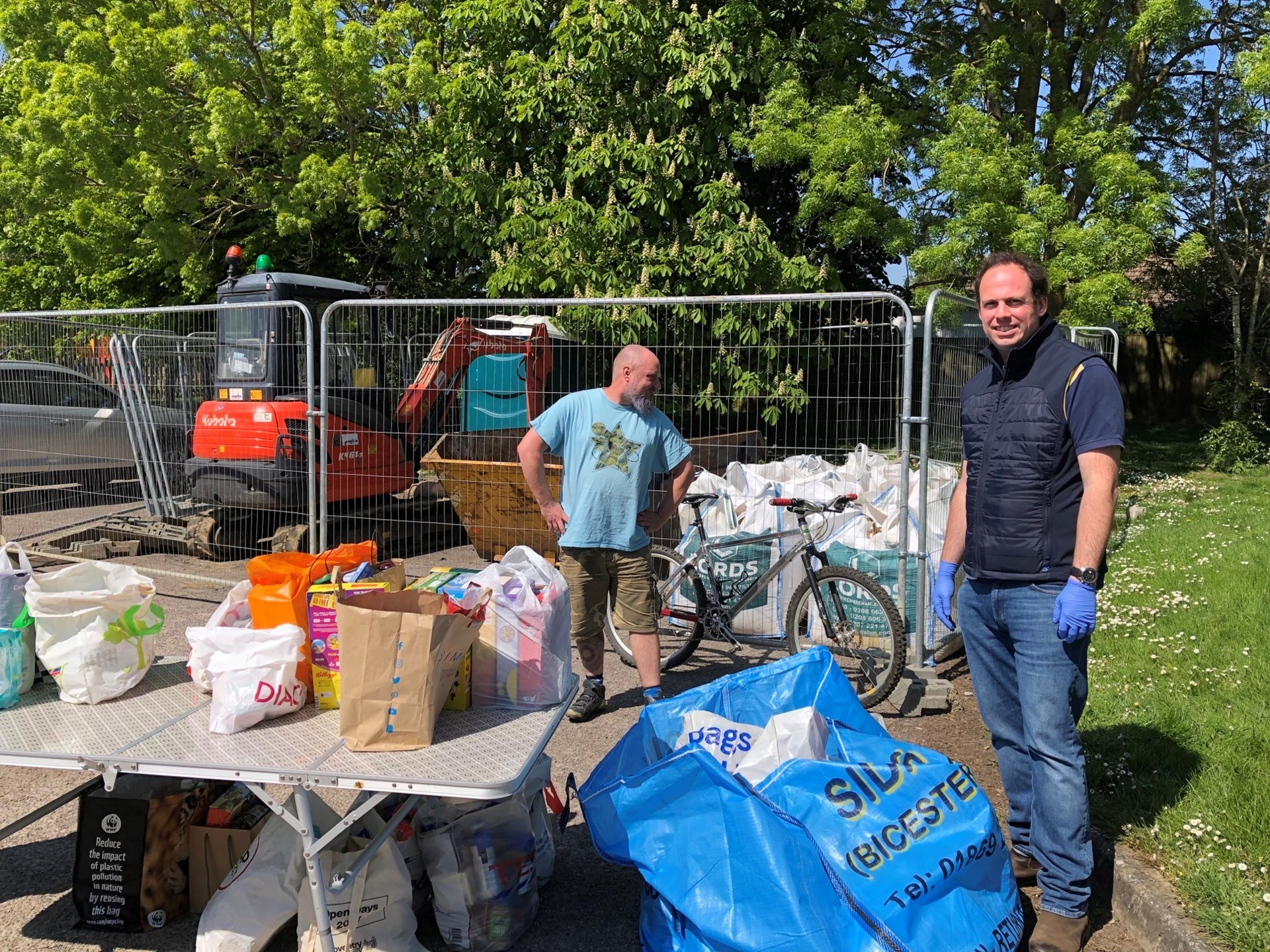 Donations to the COVID-19 Foodbank