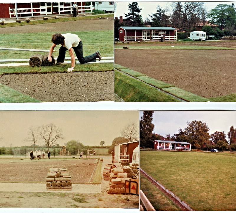 1980 Turf Laying